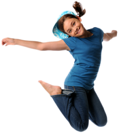 Kids jumping png